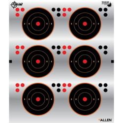 """Allen Ez Aim 3"""" Aiming Dots 6 Dots Per Sheet 4 Pack"""