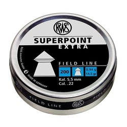 RWS Superpoint Extra Field Line .22 Cal 14.5gr 200 Pellets