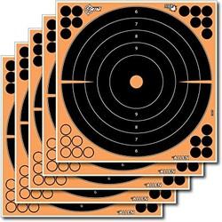 "Allen EZ-Aim Splash Adhesive Bulleye Target With C Recticle 12"" 12 Pack"