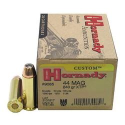 Hornady XTP Custom Pistol Ammo 44 MAG 240GR 20ct