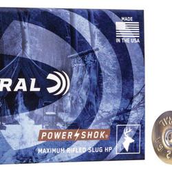 """Federal Power-Shok 12GA 2-3/4"""" 5 Rounds"""