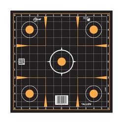 "Allen EZ-Aim Splash Adhesive Sight Grid Target 12"""