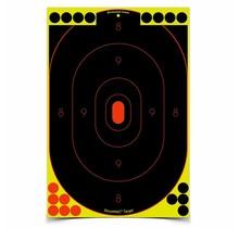 "Birchwood Shoot N C 12"" x 18"" Oval Silhouette Target 5 Pack"