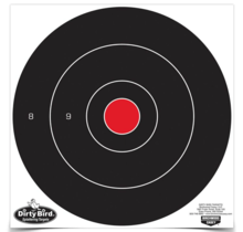 """Birchwood Dirty Bird 12"""" Bull's Eye Target 12 Pack"""