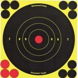 """Birchwood Shoot N C 6"""" Bull's Eye 12 Target"""