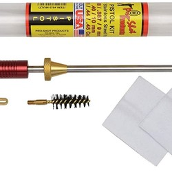 "Pro-Shot Basic Pistol Kit 38 357 9mm 40/10mm 6.5"" SS Rod"