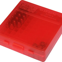 Pistol Fliptop 100RD 9MM Red