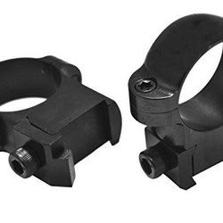 "CZ Style Rings 550 L/A 1"" Medium Black"
