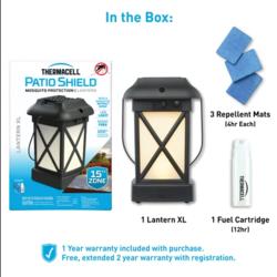 Thermacell Patio Shield Cambridge Lantern