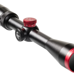 Scorpion Outdoors Red Hot 17 3-12x44 Turret Scope