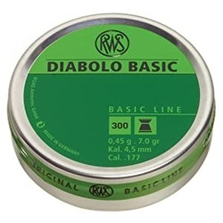Umarex RWS Pellets Diabolo Basic Line .177 Cal 300ct