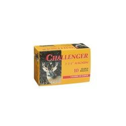"""Challenger Slug 20 GA 2-3/4"""" 7/8oz 1610 FPS 10 Slugs"""