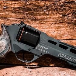 "Chiappa Charging Rhino Revolver 60DS 6"" Kobalt Kinet"