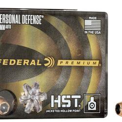 Federal Premium 10mm Auto HST Hydra-Shok JHP 200GR 20ct