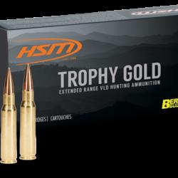 HSM 300 WSM 168GR Match Hunting VLD Trophy Gold Berger HPBT 20ct