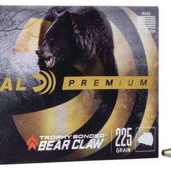 Federal Premium 338 Win Mag 225GR Trophy Bonded Bear Claw 20ct