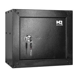 "HQ Outfitters Ammo & Pistol Steel Cabinet, 15""x17""x10"", Key Lock"