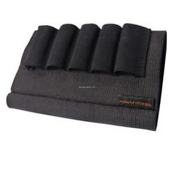 HQ Outfitters Elastic Buttstock Shotshell Holder 5 Loops 12-20 Gauge