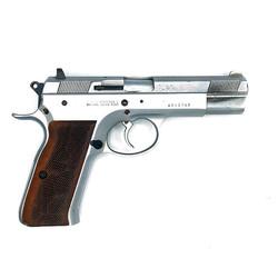 Tan Foglio Mossad 9mm Surplus Silver Wood Grip 8/10
