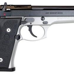 Beretta 92 F Compact Surplus 9mm Handgun Two tone 8.5/10