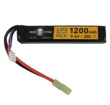 7.4V 25C 1200mAh Stick Lipo Airsoft Battery