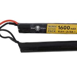 9.6V 1600mAh NiMH Airsoft Nunchuck Battery