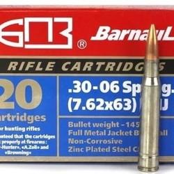 Barnaul 30-06 168gr SP 500 rounds