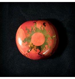 Ceramic Smoking Stone – Peach
