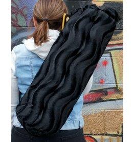"""Vatra 21"""" Tube Bag - Black Velvet Swirl"""