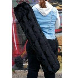 """Vatra 32"""" Tube Bag - Black Velvet Swirl"""