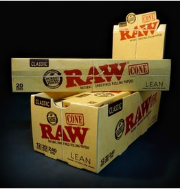 Raw Raw Classic Papers Lean Cones 20pk