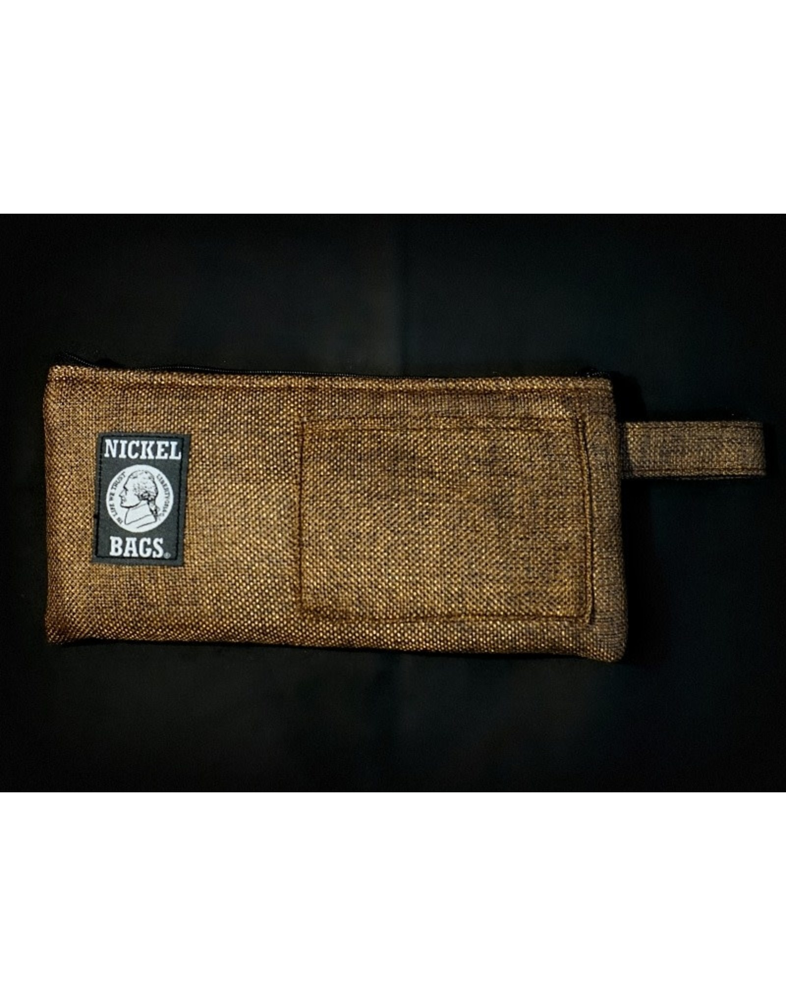 Dime Bags Dime Bags 9″ Zippered Pouch – Brown