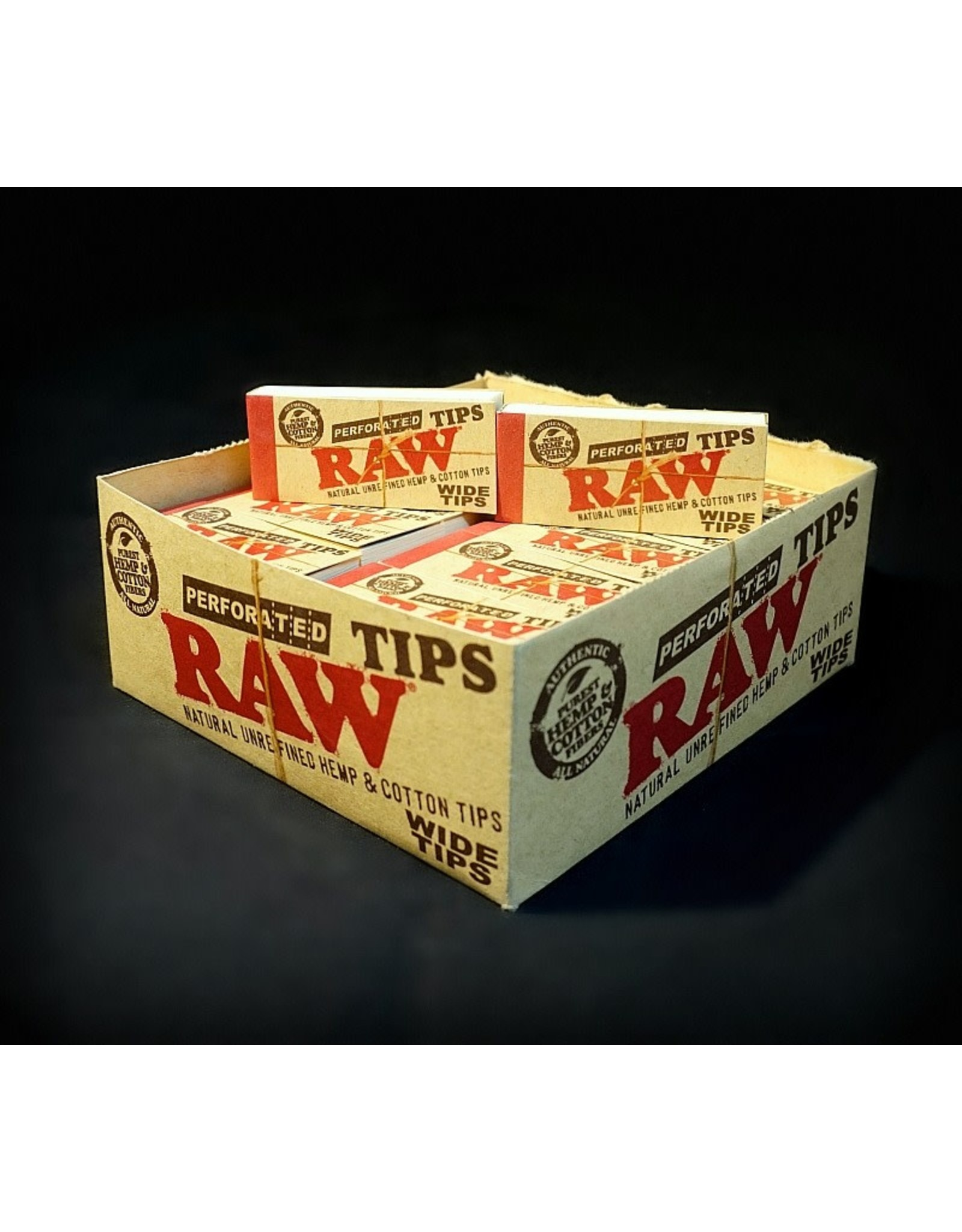 Raw Raw Perforated Wide Tips