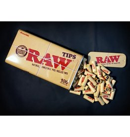 Raw Raw Pre-Rolled Tips Tin 100pc
