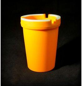 Glow in the Dark Car Ashtray - Orange