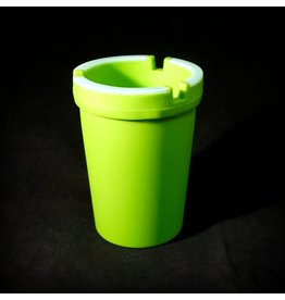 Glow in the Dark Car Ashtray - Green