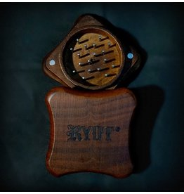 """RYOT RYOT Fly 2pc 2"""" Grinder - Rosewood"""