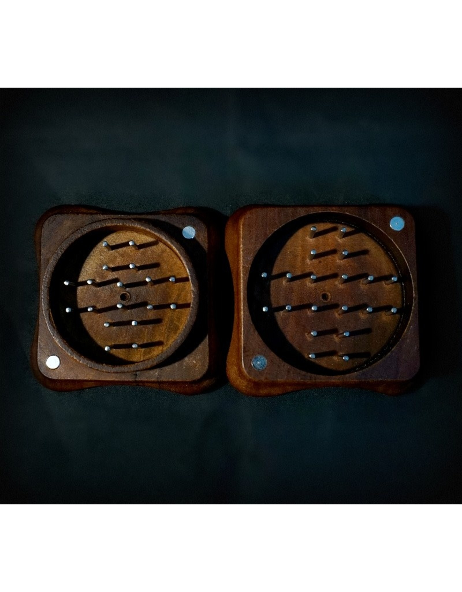 "RYOT Fly 2pc 2"" Grinder - Rosewood"
