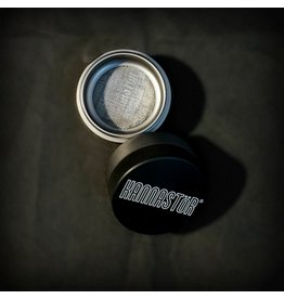 "Kannastor 4pc Grinder w/ Easy Change Screen - 1.5"" Gunmetal"