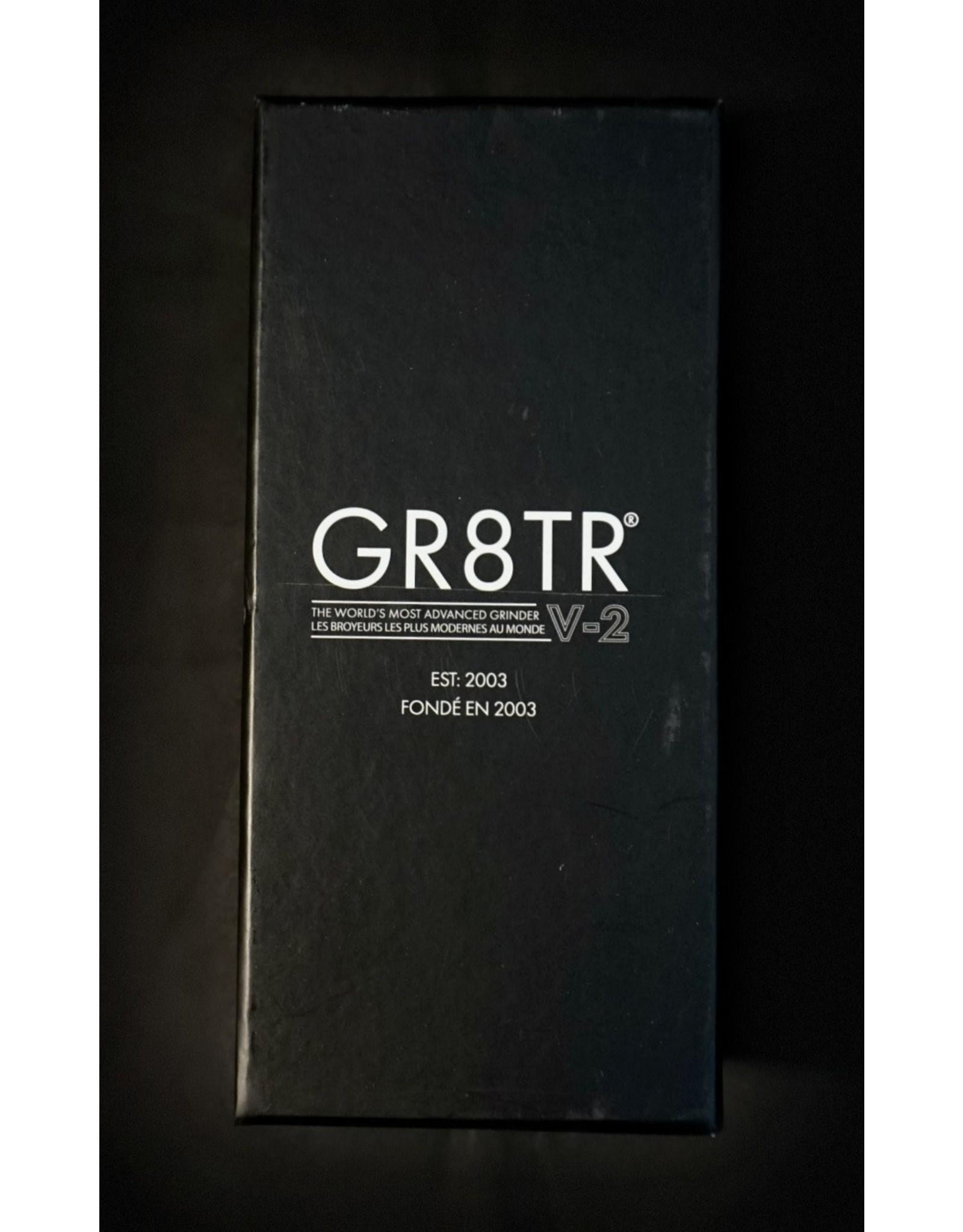 Kannastor GR8TR V2 Grinder Jar 2.2″ – Black