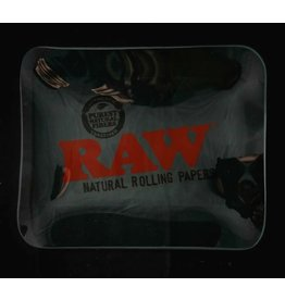 Raw Raw Glass Rolling Tray - Large