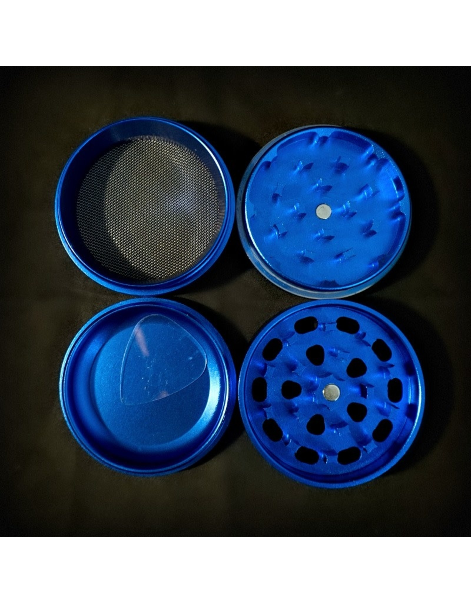 Medicali Grinder Md 4pc Blue