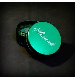 Medicali Grinder Md 4pc Green