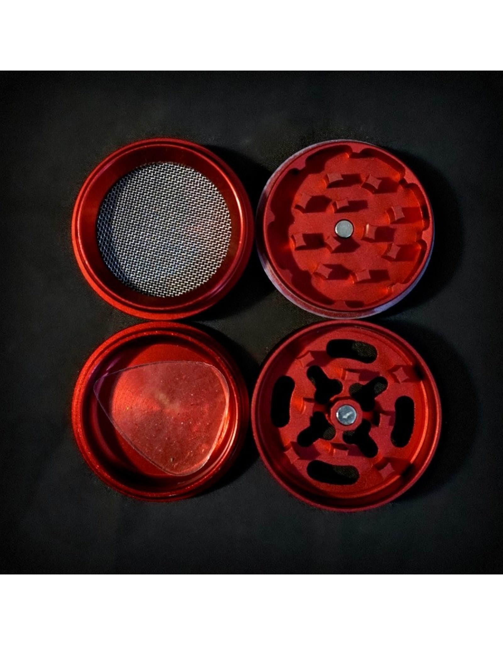 Medicali Medicali Grinder Sm 4pc Red