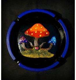 Polyresin Round Mushroom Ashtray