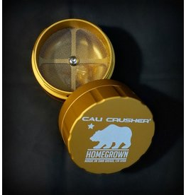 Cali Crusher Cali Crusher Homegrown 4pc Large - Gold