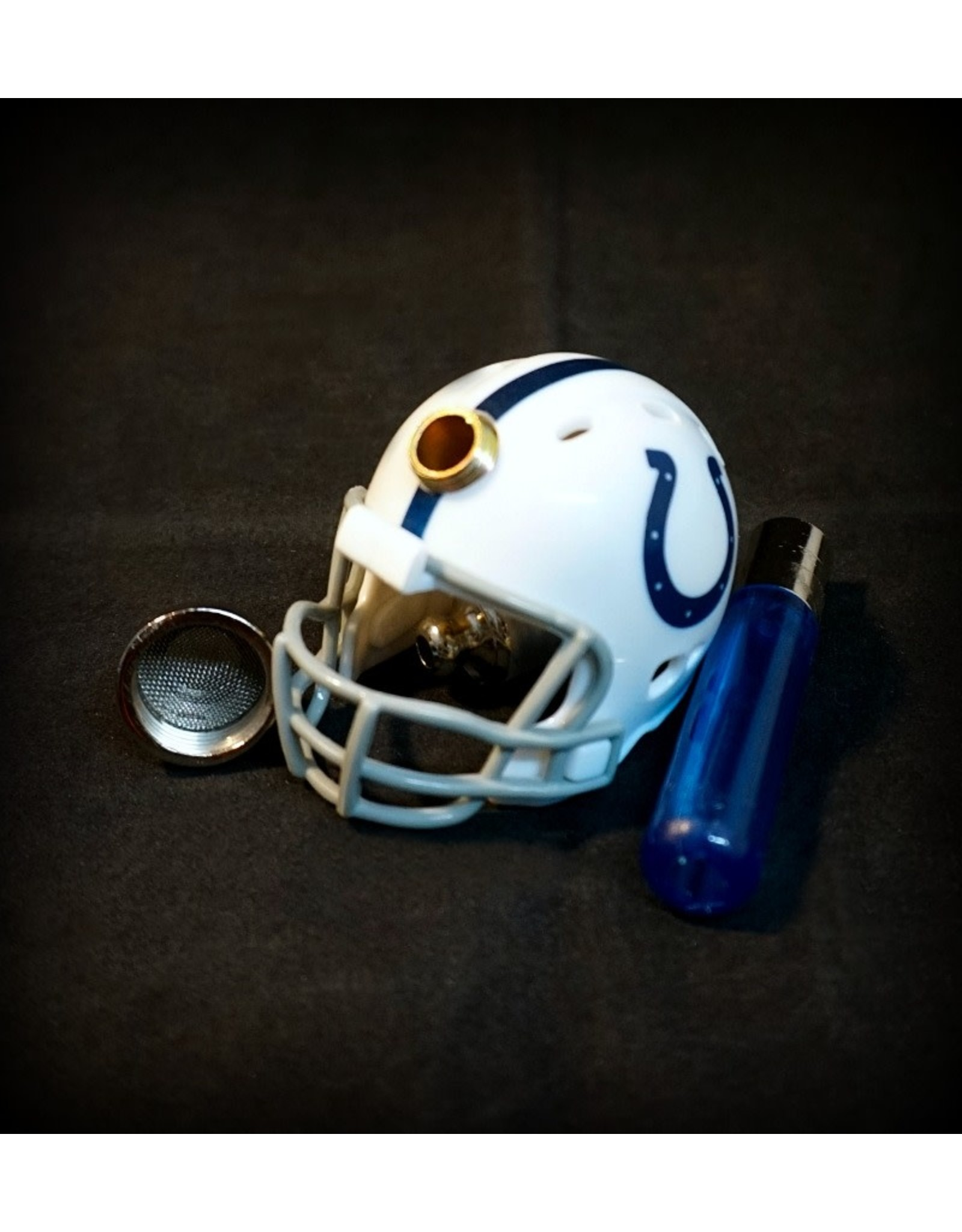 NFL Metal Handpipe - Indianapolis Colts