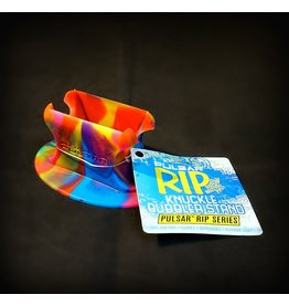 Pulsar Silicone Knuckle Bubbler Stand - Assorted Colors