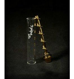 """7Pipe Twisty Glass Blunt 3.85"""""""
