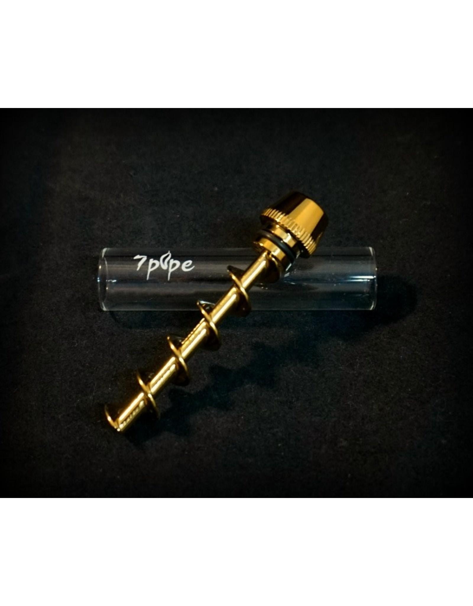 "7Pipe Mini Twisty Glass Blunt 2.75"""